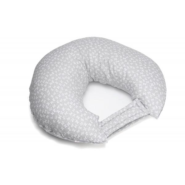"""Подушка для кормления C-mini """"Серые звезды"""""""