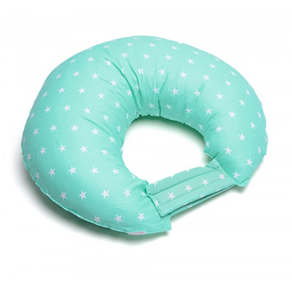 """Подушка для кормления C-mini """"Мятный горошек"""""""